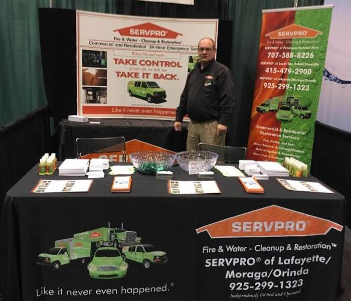 Our Marketing Rep Mark S. at the Northern Facilities Expo